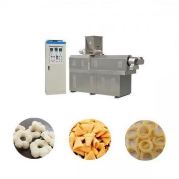 Crunchy Twisted Ring Ball Snacks Food Production Extruder