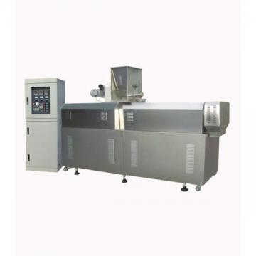 Stainless Steel PLC Control Box 100kg/H Small Capacity Mini Dog Food Extruder Pet Food Making Machine